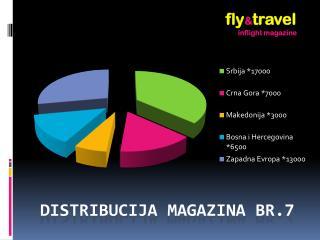 Distribucija magazina  br.7