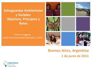 Buenos Aires, Argentina 1 de junio de 2011