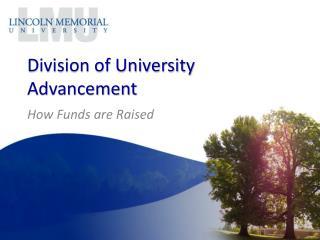 Division of University Advancement
