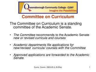 Committee on Curriculum