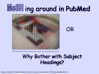 ing around in PubMed