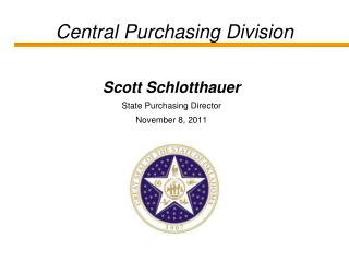 Central Purchasing Division