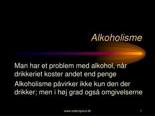 Alkoholisme