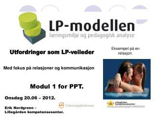Utfordringer som LP-veileder