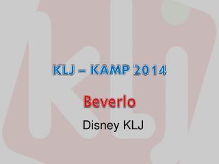 KLJ – KAMP  2014
