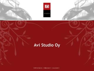 Avi Studio Oy