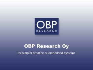 OBP Research Oy