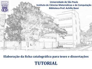 Elaboração da ficha  catalográfica  para teses e dissertações TUTORIAL