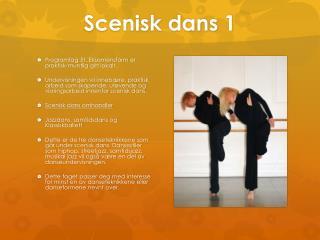 Scenisk dans 1