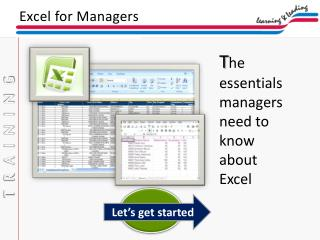 Excel for Managers