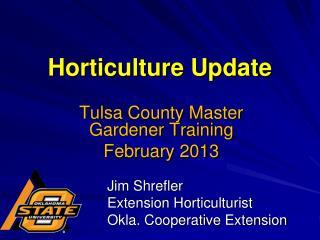 Horticulture Update