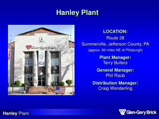 Hanley Plant