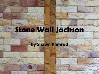 Stone Wall Jackson by Shawn Kamrud