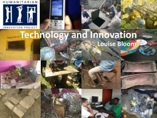 Technology and Innovation