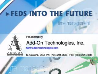 ► FEDS INTO THE FUTURE