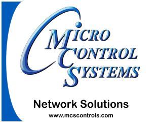 Network Solutions mcscontrols