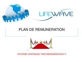 PLAN DE REMUNERATION