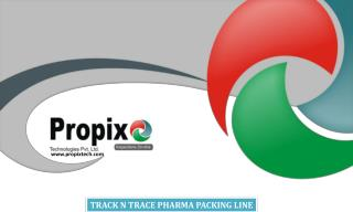 TRACK N TRACE PHARMA PACKING LINE