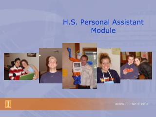 H.S. Personal Assistant Module