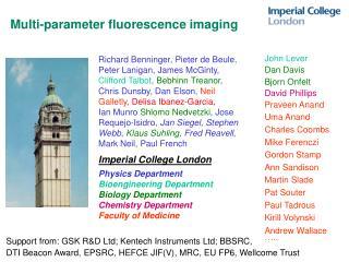 Multi-parameter fluorescence imaging