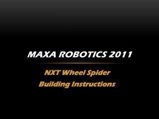 MAXA Robotics 2011