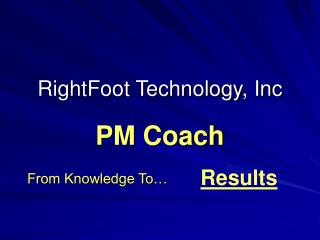 RightFoot Technology, Inc