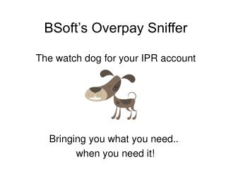 BSoft's Overpay Sniffer