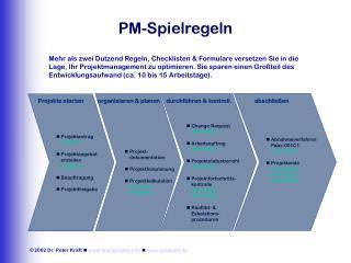 PM-Spielregeln