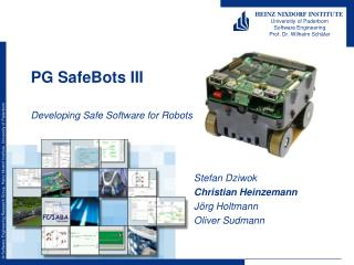 PG SafeBots III