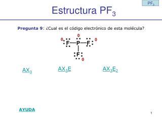 Estructura PF 3