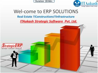 Wel-come to ERP SOLUTIONS   Real  Estate  !!Constructions!!Infrastructure