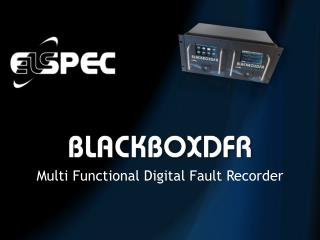 Multi Functional Digital Fault Recorder