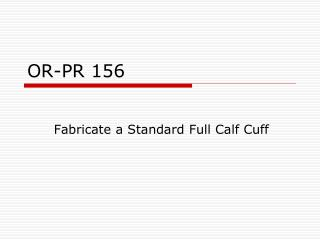 OR-PR 156
