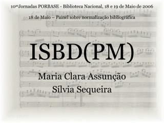 ISBD(PM)