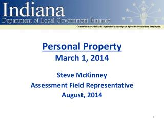 Personal Property March 1, 2014