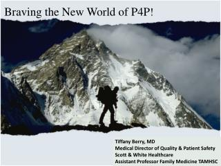 Braving the New World of P4P !