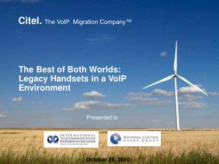 The Best of Both Worlds: Legacy Handsets in a VoIP Environment