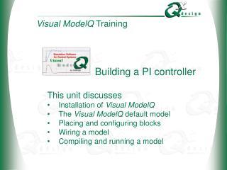 Building a PI controller
