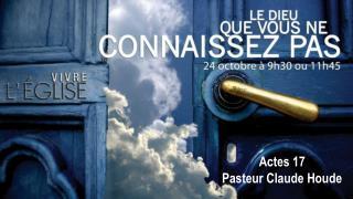 Actes 17 Pasteur Claude Houde