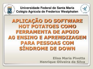 Elisa Maria Pivetta Henrique Oliveira da Silva