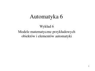 Automatyka 6