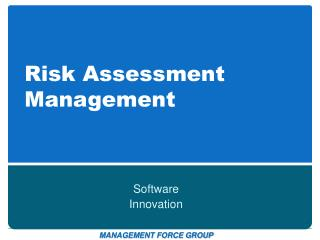 Risk Assessment Management