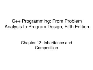 C Programming: From Problem Analysis to Program Design, Fifth Edition