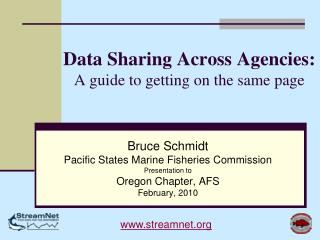 Data Sharing Across Agencies: A guide to getting on the same page