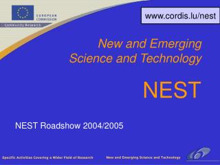 NEST Roadshow 2004/2005