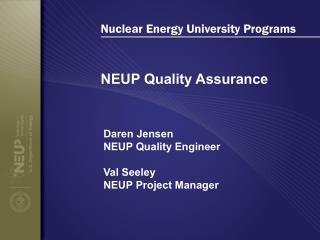 Nuclear Energy University Programs