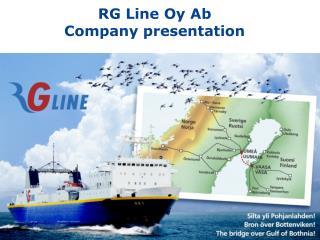 RG Line Oy Ab Company presentation