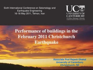 Performance of buildings in the February 2011 Christchurch Earthquake