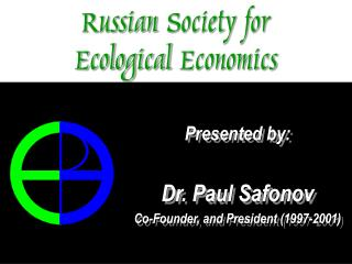 Russian  Society for  Ecological Economics