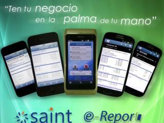 SAINT e-Report